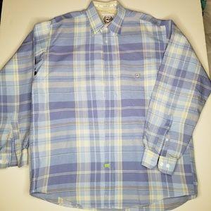 Cinch Button down shirt size large euc